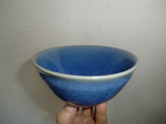 氷裂貫入瑠璃青瓷  土を変えて_b0111791_18242048.jpg