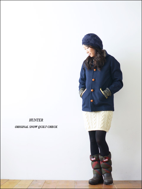 HUNTER [ハンター] ORIGINAL SNOW QUILT CHECK [HUW25492] _f0051306_199513.jpg