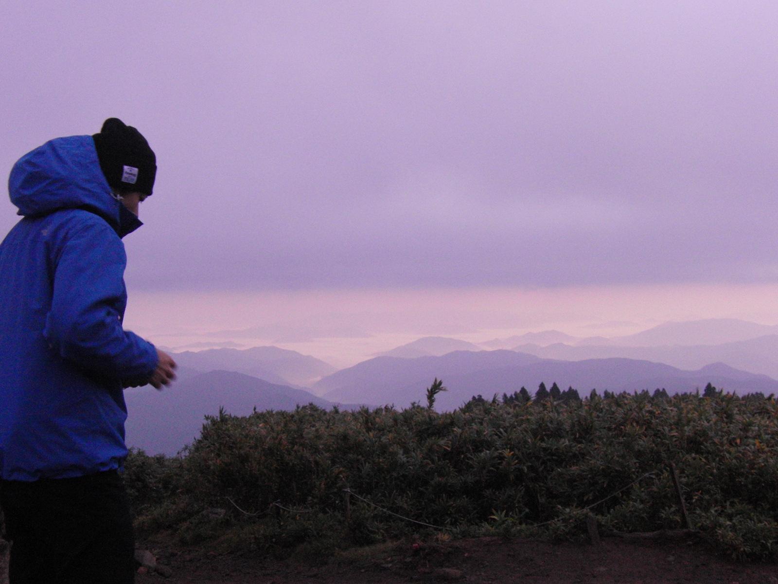 氷ノ山の黄葉&御来光登山!_f0101226_17251352.jpg