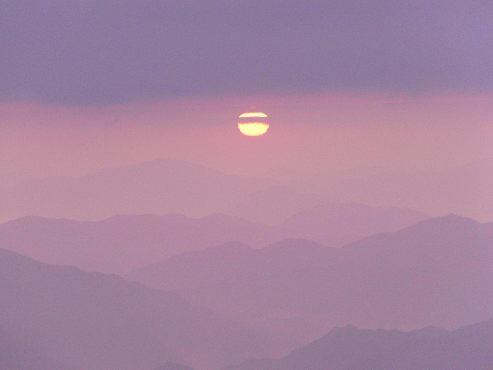 氷ノ山の黄葉&御来光登山!_f0101226_17271787.jpg