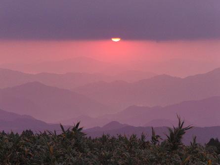 氷ノ山の黄葉&御来光登山!_f0101226_17285040.jpg