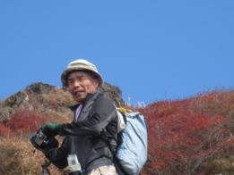 南くじゅうの紅葉 久住山と俊ちゃんの今日の山歩き_c0077338_22292679.jpg