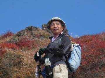 南くじゅうの紅葉 久住山と俊ちゃんの今日の山歩き_c0077338_22295142.jpg