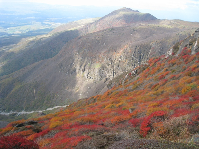 南くじゅうの紅葉 久住山と俊ちゃんの今日の山歩き_c0077338_22302627.jpg