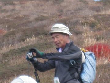南くじゅうの紅葉 久住山と俊ちゃんの今日の山歩き_c0077338_22351961.jpg