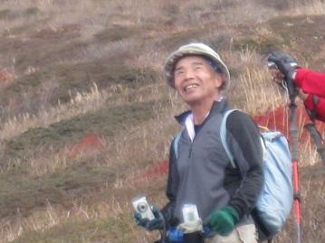 南くじゅうの紅葉 久住山と俊ちゃんの今日の山歩き_c0077338_22353731.jpg