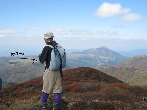 南くじゅうの紅葉 久住山と俊ちゃんの今日の山歩き_c0077338_22372117.jpg