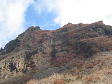 南くじゅうの紅葉 久住山と俊ちゃんの今日の山歩き_c0077338_6442697.jpg