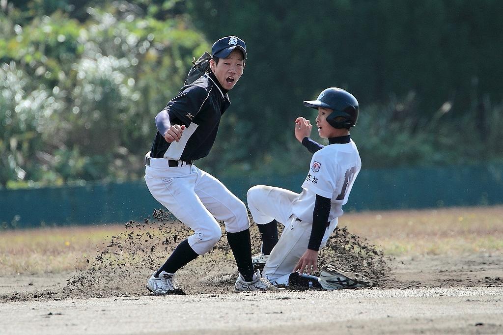 練習試合 vs京都洛中ボーイズ1_a0170082_2151494.jpg