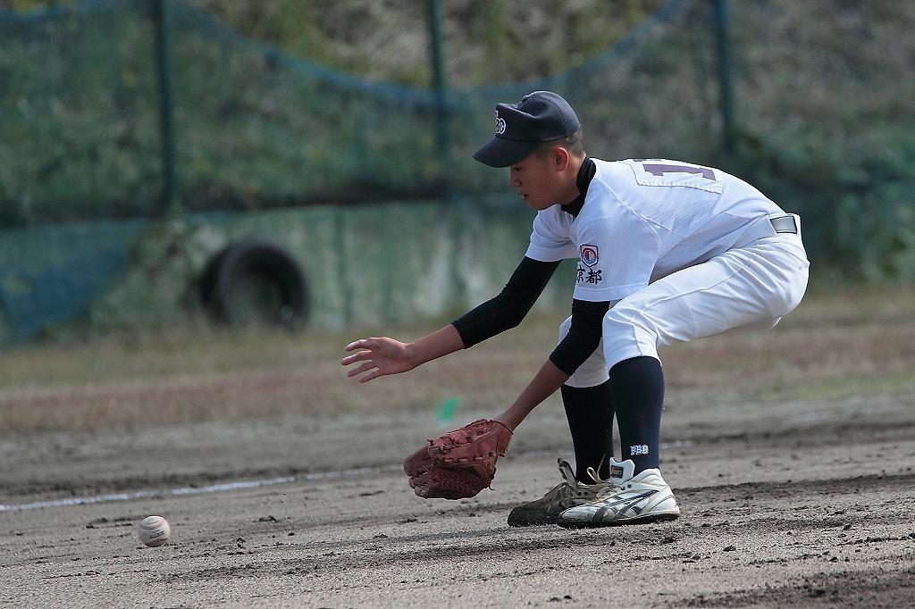 練習試合 vs京都洛中ボーイズ1_a0170082_21535857.jpg
