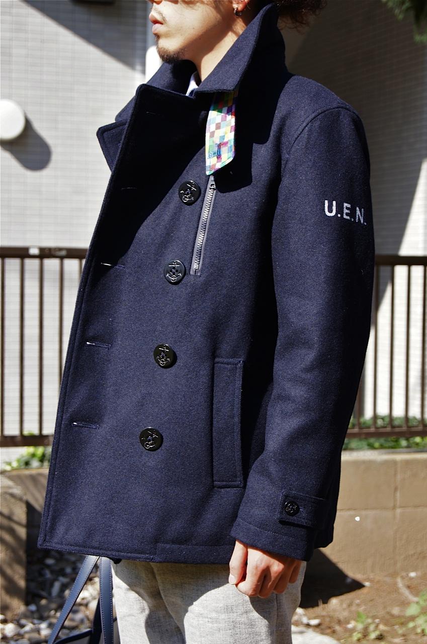 uniform experiment - COLOR CHART PEA COAT!!_c0079892_2036863.jpg