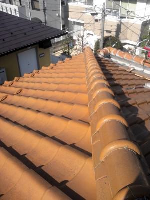 豊島区の高松で雨漏り修理工事_c0223192_21301866.jpg