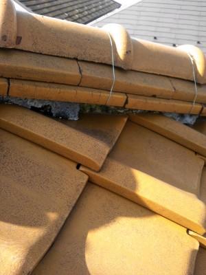 豊島区の高松で雨漏り修理工事_c0223192_2131713.jpg