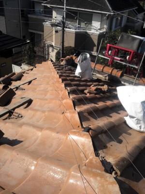 豊島区の高松で雨漏り修理工事_c0223192_21341836.jpg