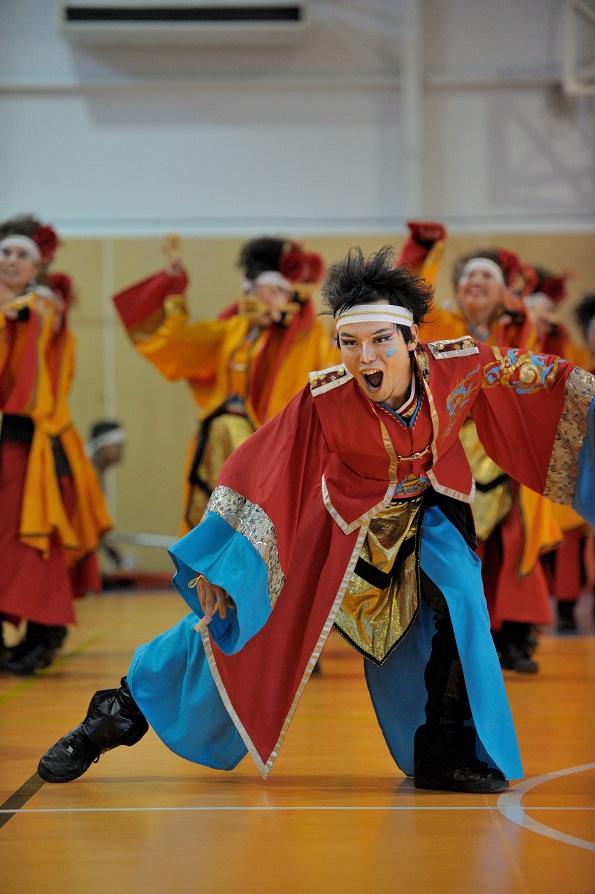 銀輪舞隊(臨時公開演舞)_f0184198_16471749.jpg