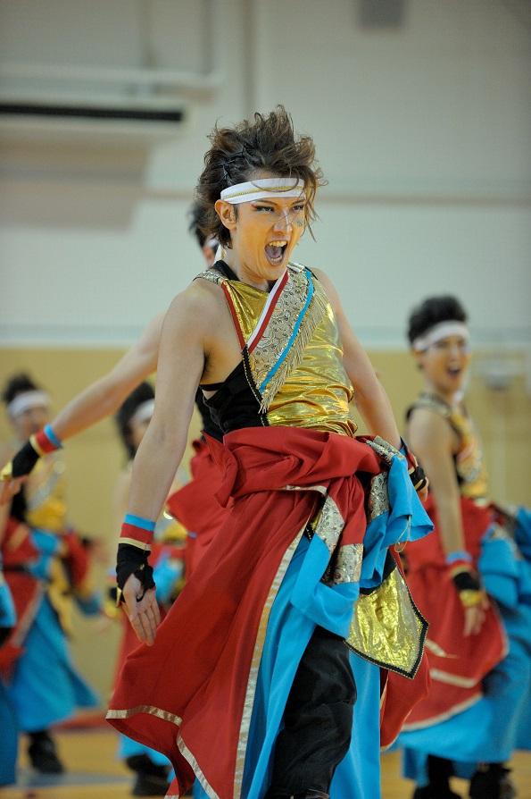銀輪舞隊(臨時公開演舞)_f0184198_16491598.jpg