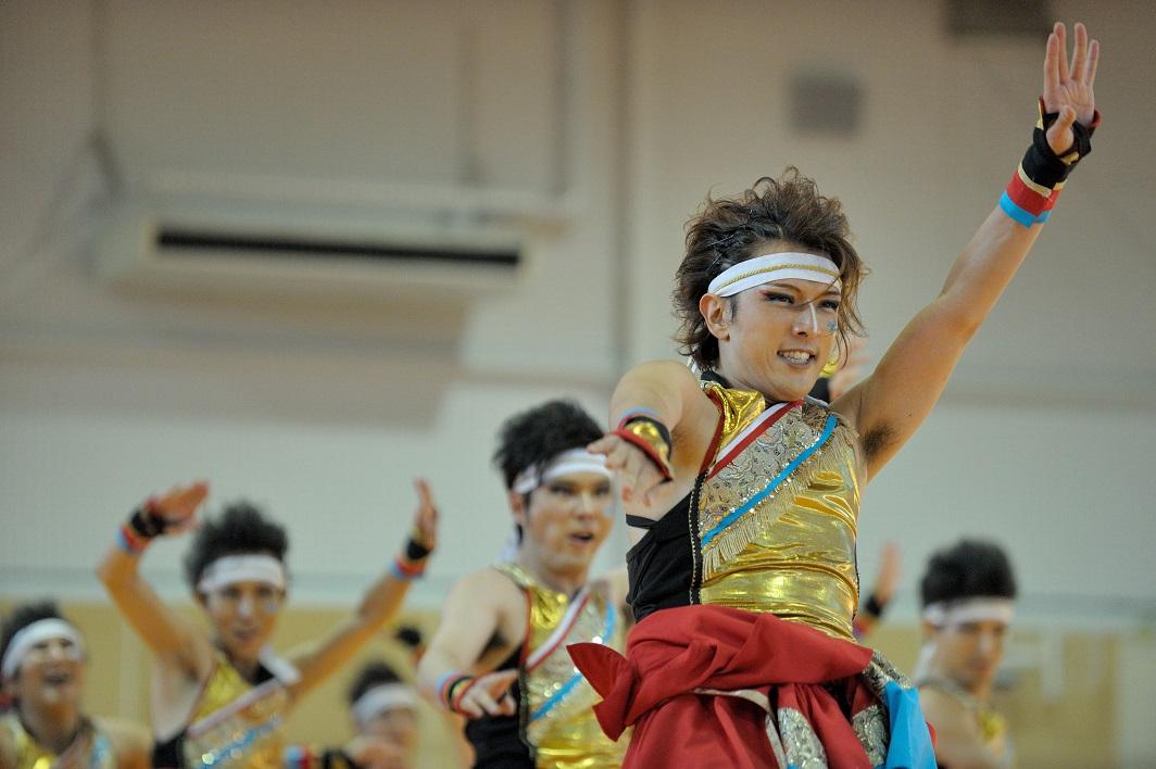 銀輪舞隊(臨時公開演舞)_f0184198_1649965.jpg