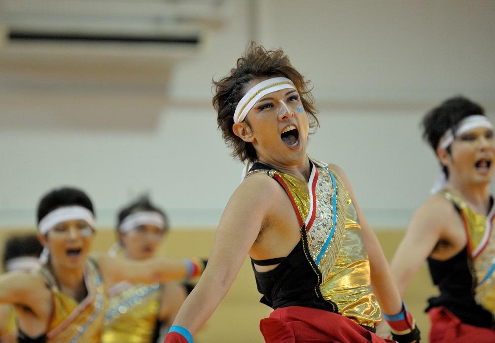 銀輪舞隊(臨時公開演舞)_f0184198_1650350.jpg