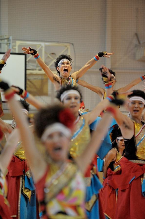 銀輪舞隊(臨時公開演舞)_f0184198_16511525.jpg