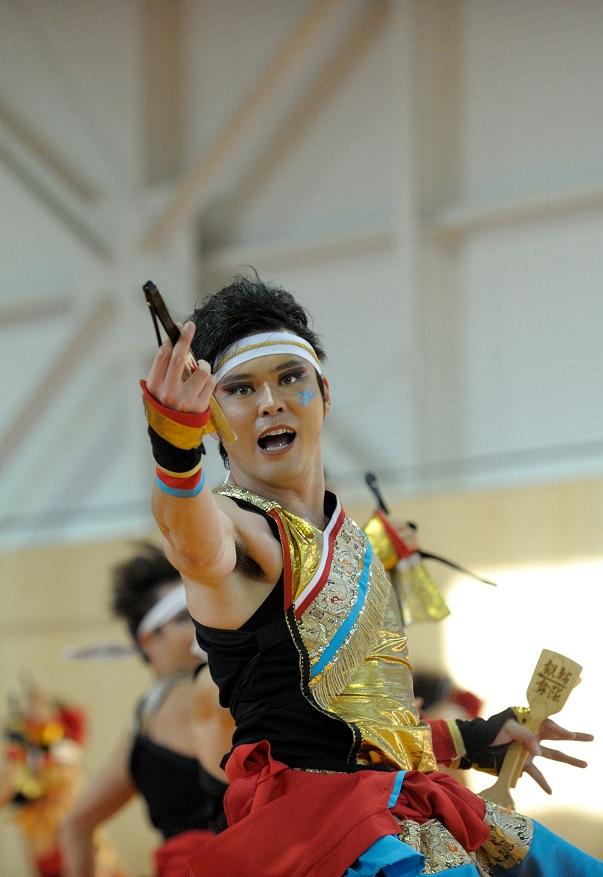 銀輪舞隊(臨時公開演舞)_f0184198_1652236.jpg
