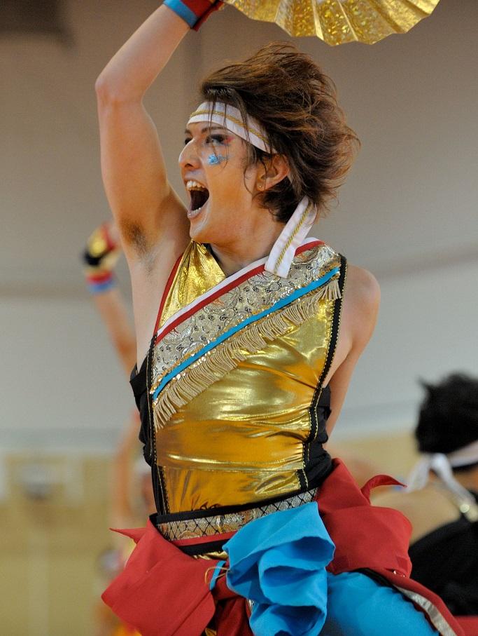 銀輪舞隊(臨時公開演舞)_f0184198_16522596.jpg