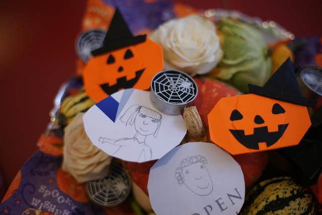 Halloween hats ★ Origami Ⅹハロウィン ハット_b0246303_0124351.jpg
