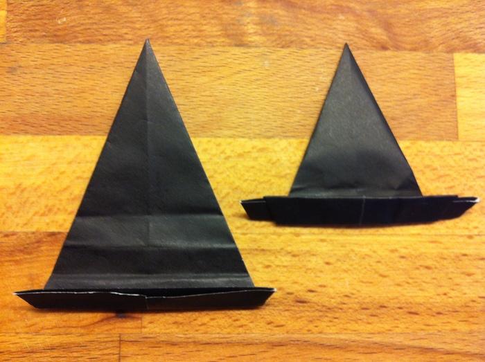 Halloween hats ★ Origami Ⅹハロウィン ハット_b0246303_2350279.jpg