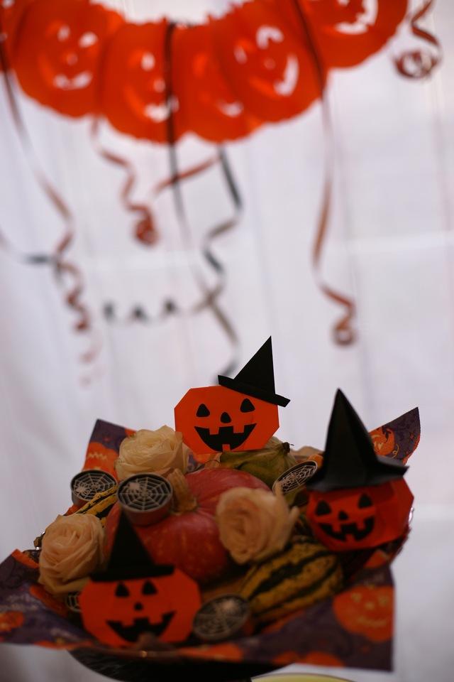 Halloween hats ★ Origami Ⅹハロウィン ハット_b0246303_2355887.jpg