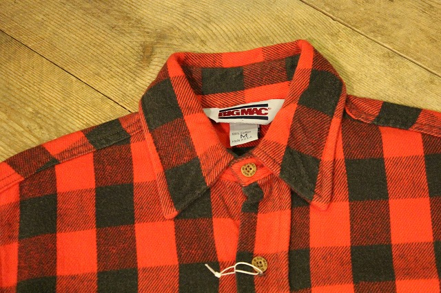 BIG MACのネルシャツ_d0121303_17385655.jpg