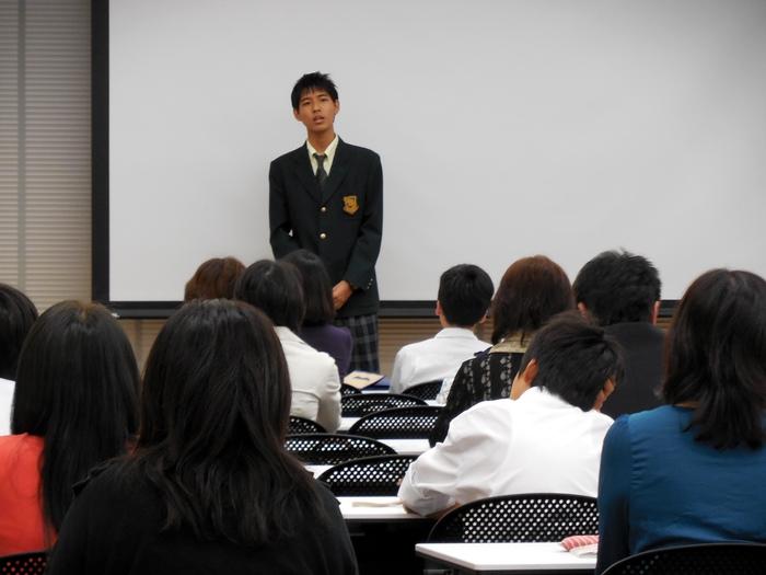 ◇2014年度 高校進学説明会-第1部-のようす_d0116009_8211659.jpg