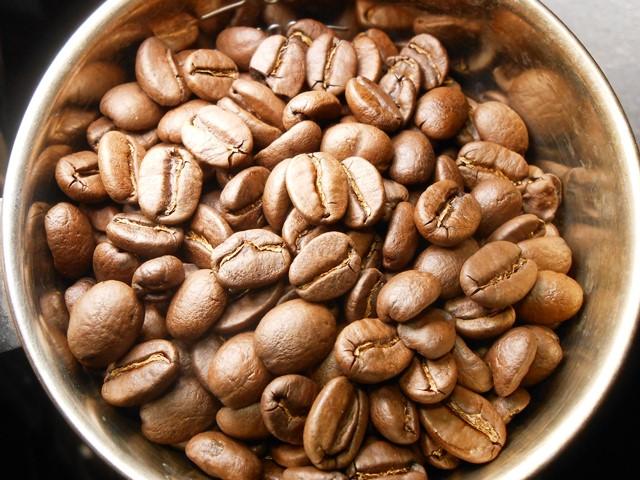 秋味 キリマンジェロ コーヒー _b0136223_19544714.jpg