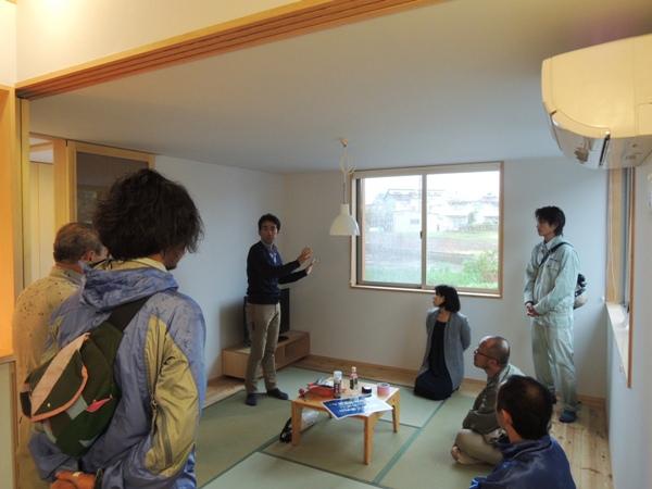 「桜上水の家」現場検討会_c0019551_1957219.jpg
