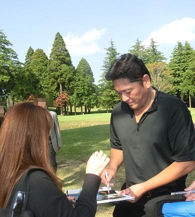 平尾昌晃チャリティゴルフに行って来ました!_e0133255_1894454.jpg