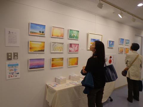 聖路加画廊で展示会10/28からスタートしました_f0071893_937422.jpg
