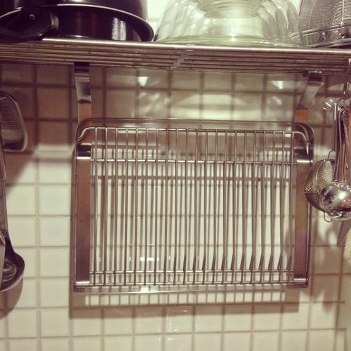 IKEAの水切りラック : My Home 妄想覚へ我記