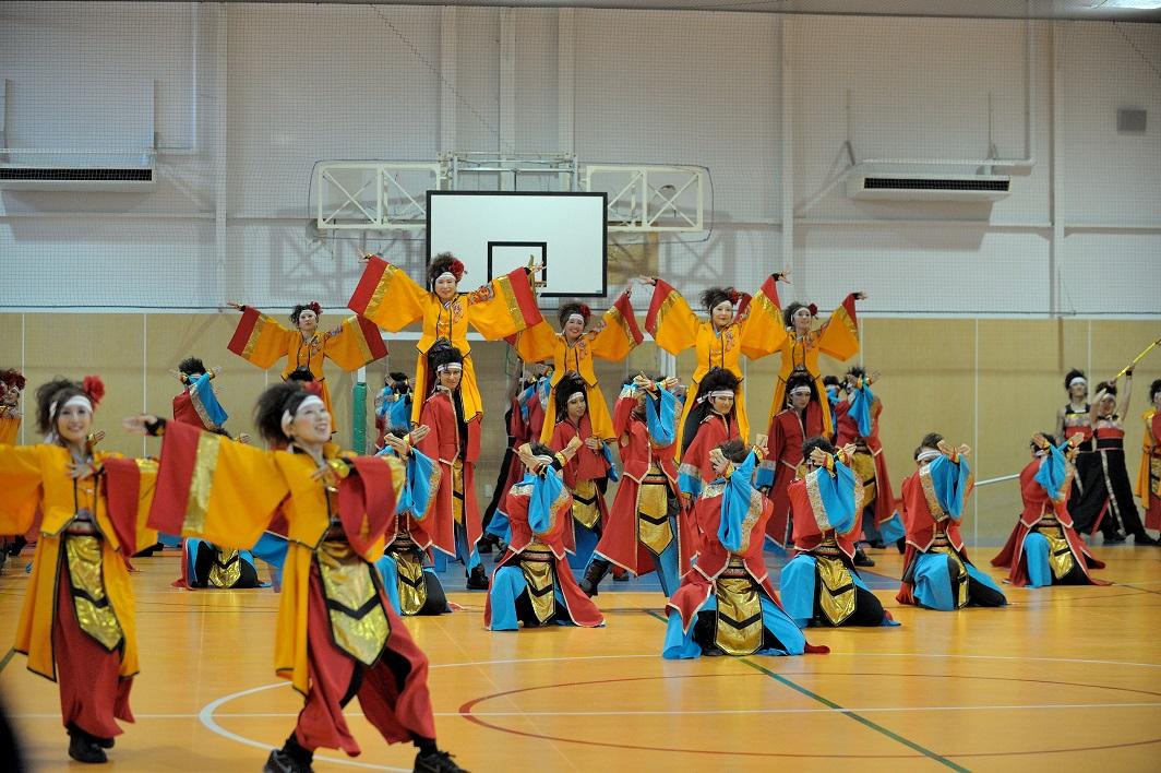 銀輪舞隊(臨時公開演舞)_f0184198_22325584.jpg