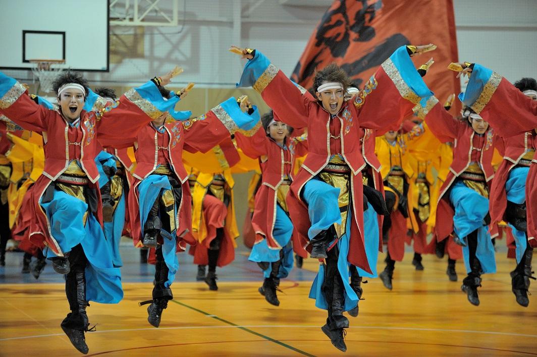 銀輪舞隊(臨時公開演舞)_f0184198_2233287.jpg