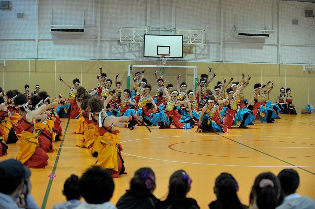 銀輪舞隊(臨時公開演舞)_f0184198_223406.jpg
