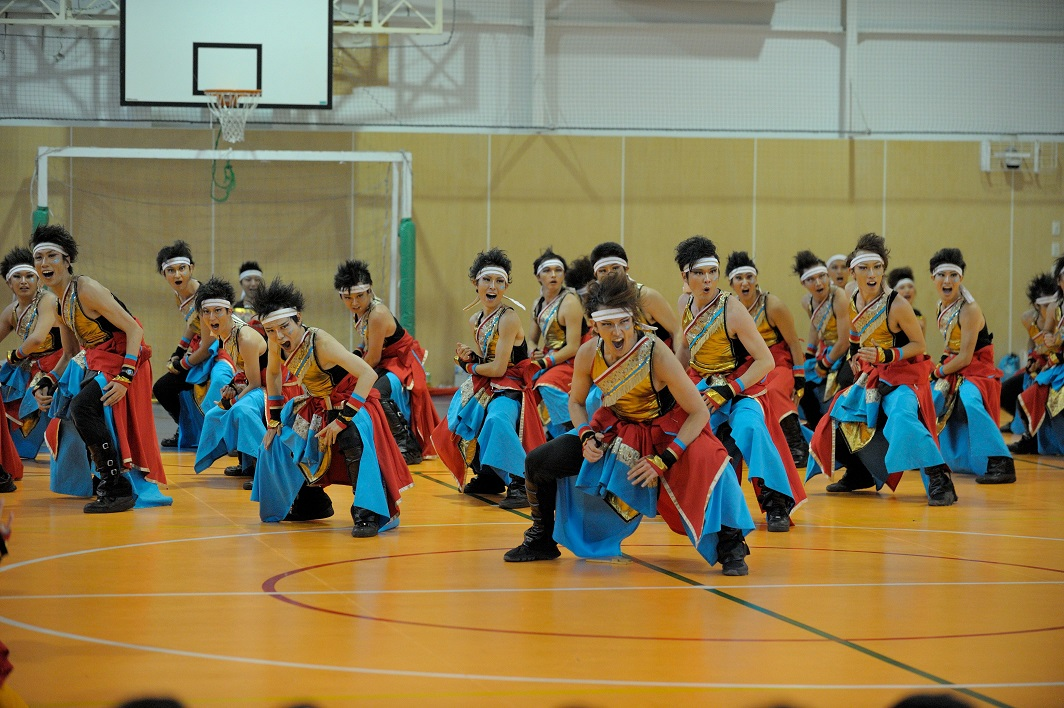 銀輪舞隊(臨時公開演舞)_f0184198_22341174.jpg
