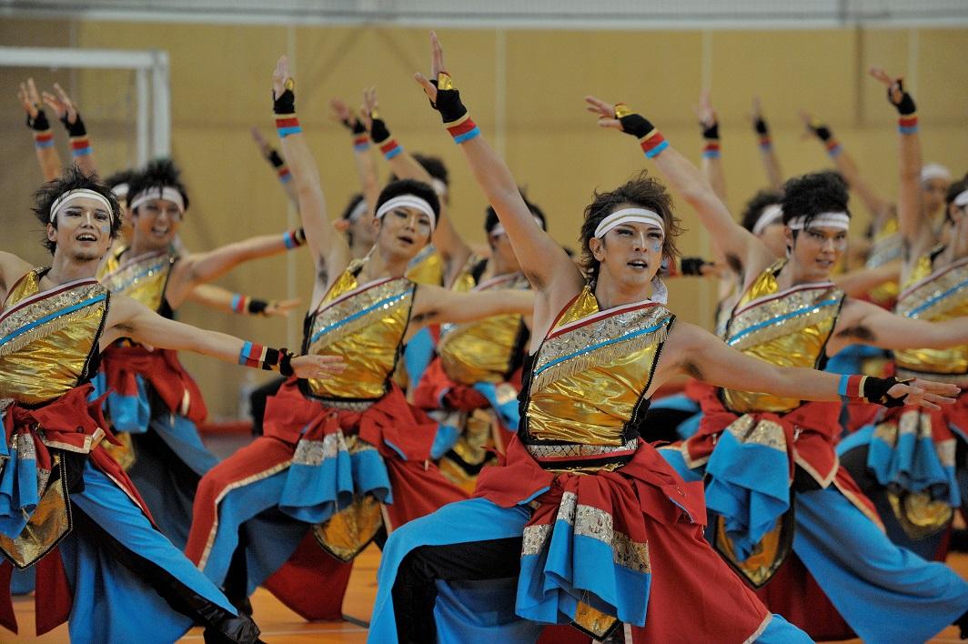 銀輪舞隊(臨時公開演舞)_f0184198_2234318.jpg