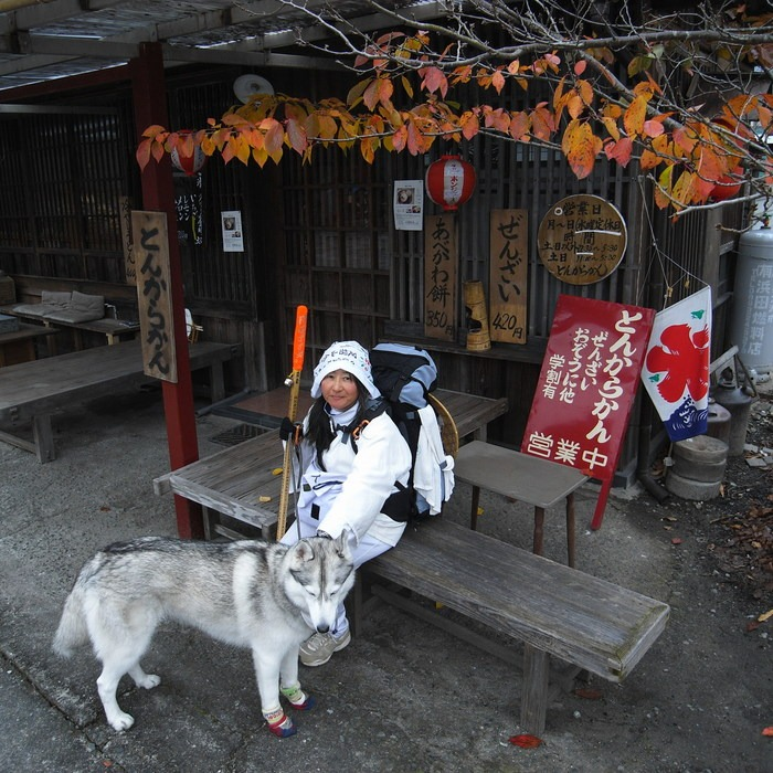 Memory of the second pilgrimage with husky HANA_c0049299_16484892.jpg