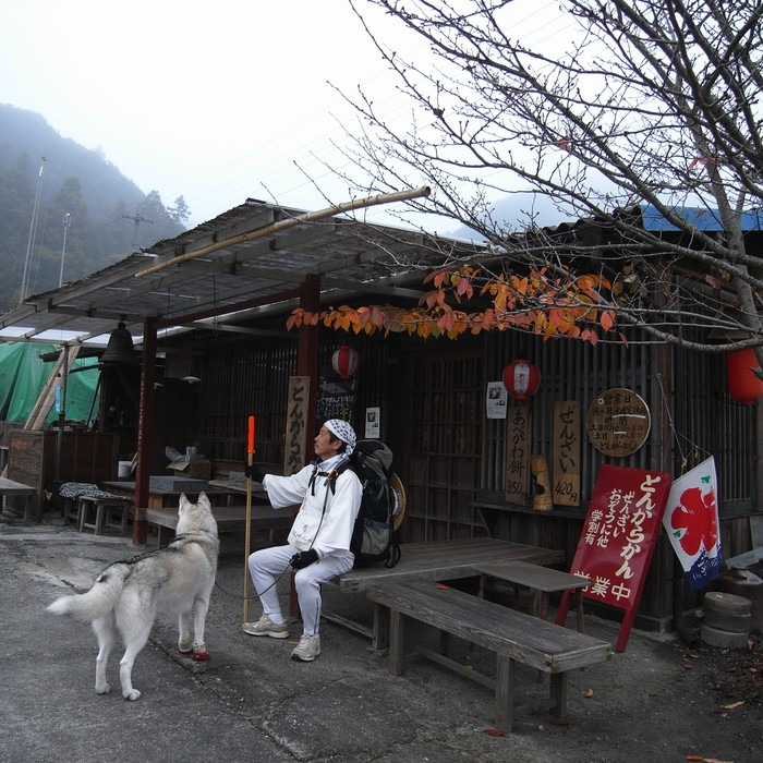 Memory of the second pilgrimage with husky HANA_c0049299_16491498.jpg
