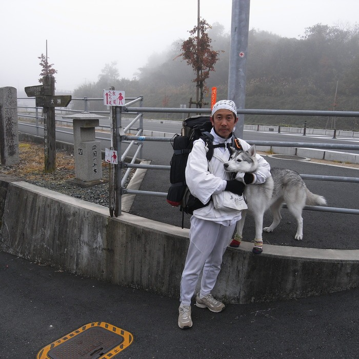 Memory of the second pilgrimage with husky HANA_c0049299_16492693.jpg