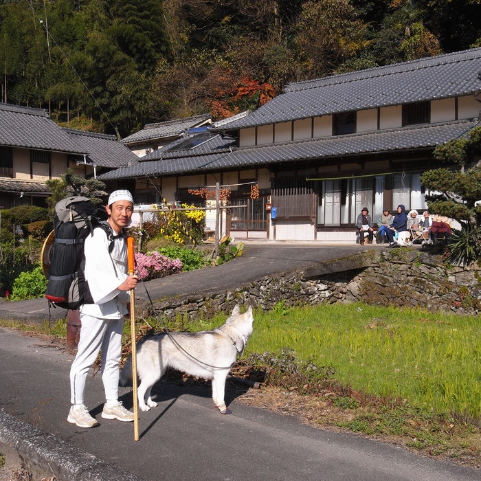 Memory of the second pilgrimage with husky HANA_c0049299_1828568.jpg