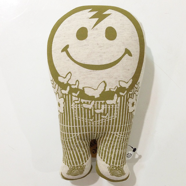 """Smile Pillow \""""Organic\"""" Kid Capo Limited / JOINT CREATION_c0222907_14395819.jpg"""