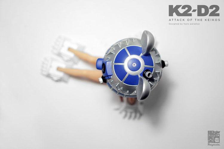 今度はK2-D2、好きにやってくれっていう感じ、でも惹かれる_a0077842_16462336.jpg
