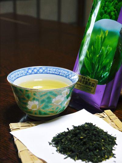 菊池水源茶 秋冬茶の茶摘_a0254656_18142913.jpg