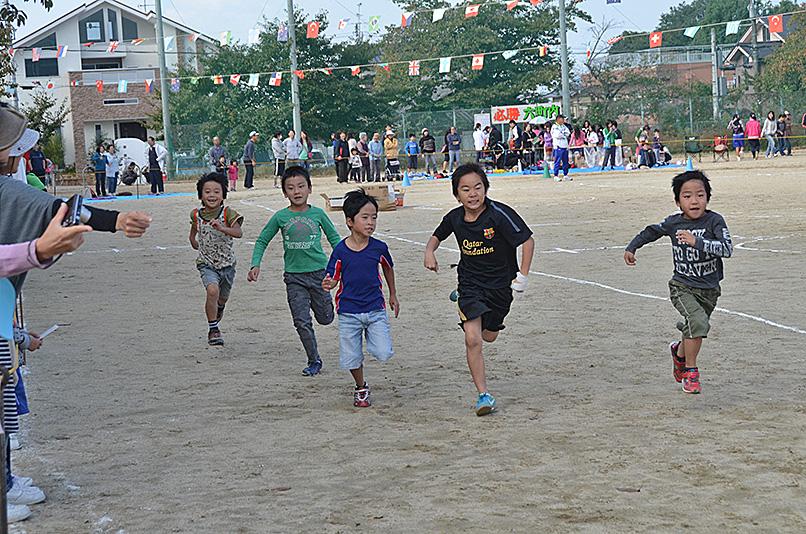 わが町の秋祭りと大運動会_e0164563_10331437.jpg