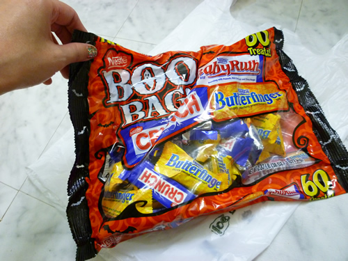 Nestle BOO BAG!_c0152767_22241016.jpg