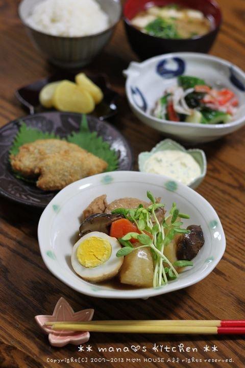リメイク肉じゃが弁当 ☆ 日本最大のどんぐり♪_c0139375_12403838.jpg